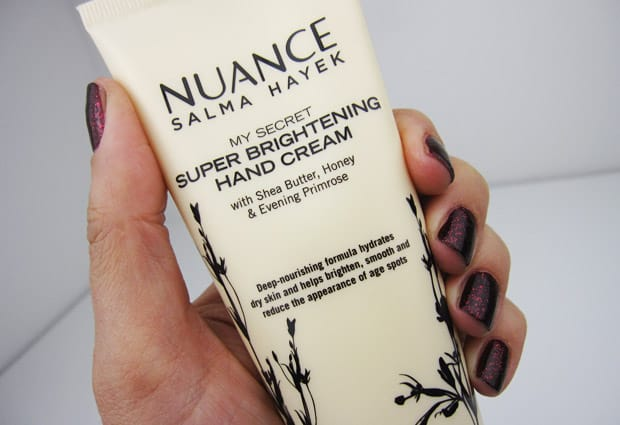 Nuance Super Brightening Hand Cream 2 Nuance Salma Hayek: Top Three Must Haves