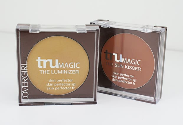 COVERGIRL TruMagic 1 COVERGIRL TruMagic, The Luminizer and The Sun Kisser   Swatches and Review