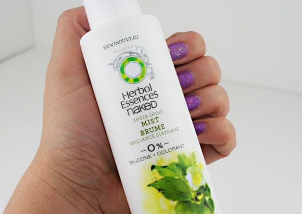 Herbal Essences Naked 3 Aim For High Style With The Bare Basics