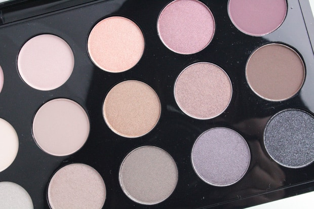 Mac cool neutral palette swatches and looks for Cool neutral color palette