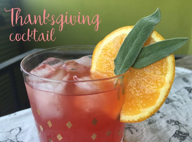 The ever so grateful thanksgiving cocktail recipe we for Thanksgiving drink recipes with alcoholic