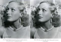 Joan Crawford retouched photo