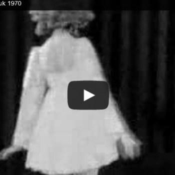 Mini Skirt Fashion Show, 1970 (Video)