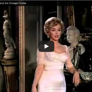 Marilyn in The Prince & The Showgirl Trailer