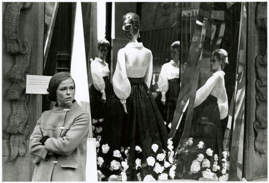 1960s photo window display