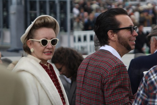 1940s fashions at Goodwood Revival