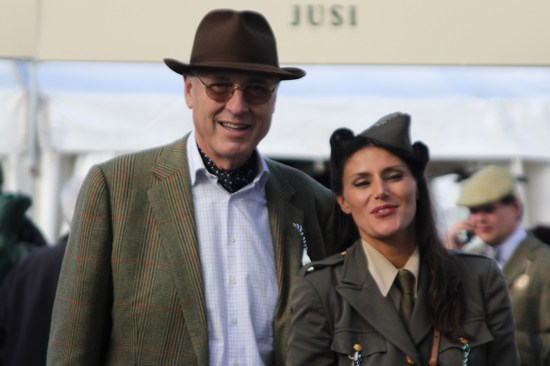 1940s military fashions at Goodwood Revival 2012