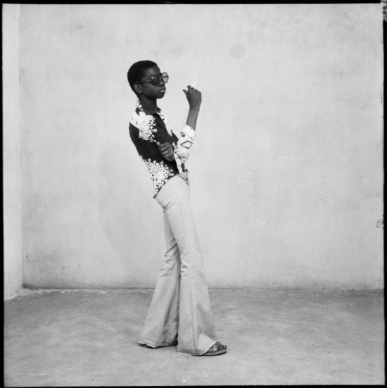 1960s fashion photo Malick Sidibé A Yé-yé posing,1963