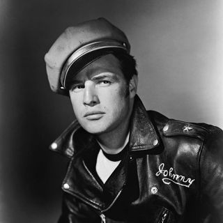 Marlon Brando in his most iconic photo