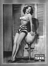 Nancy Porter WWII pin up for YANK Magazine
