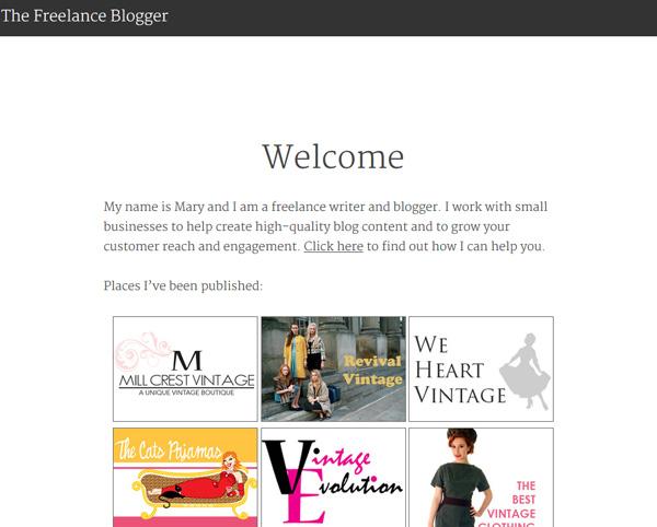 Freelance Blogger