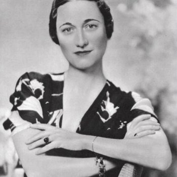 A striking portrait of Wallis Simpson, 1930s