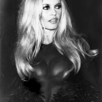 Brigitte Bardot looking a bit er… busty