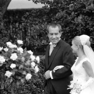 1970s wedding dresses: Tricia Nixon