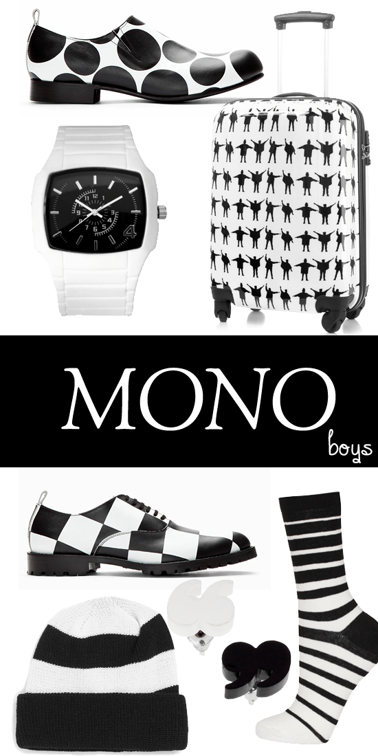 1960s monochrome retro fashion mens