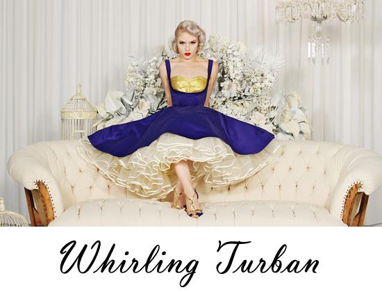 Whirling Turban retro fashion