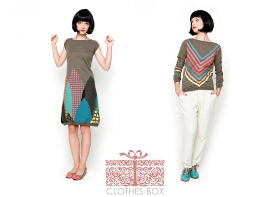 retro womenswear Clothes Box