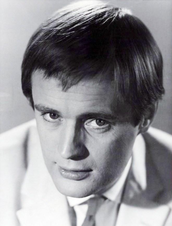 David McCallum with terrible hair, 1960s