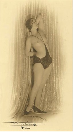 1920s monokini (topless swimsuit)