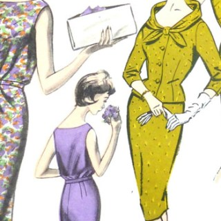 Starting to sew, and whether to use vintage sewing patterns and fabric