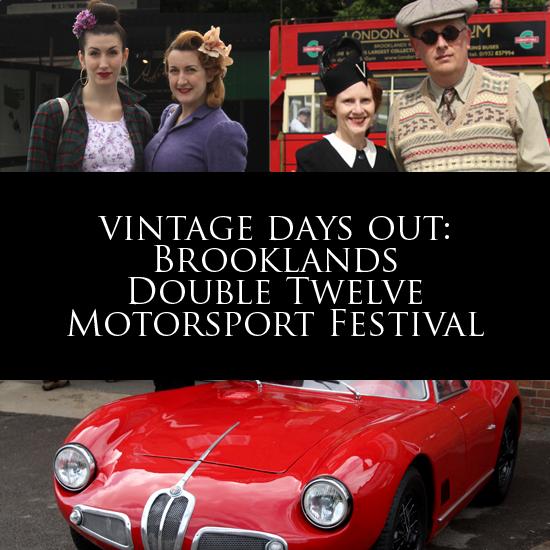 Vintage days out: The Brooklands Double Twelve Motorsport Festival