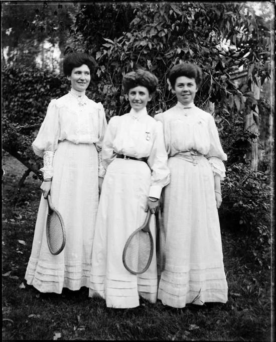 1900s tennis fashions