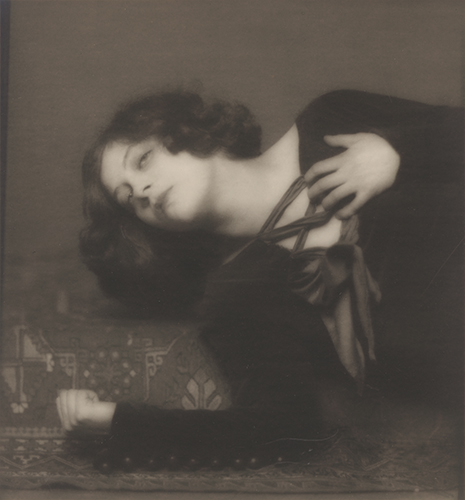 Greta Garbo aged 15