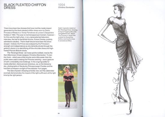 Princess Diana's revenge dress