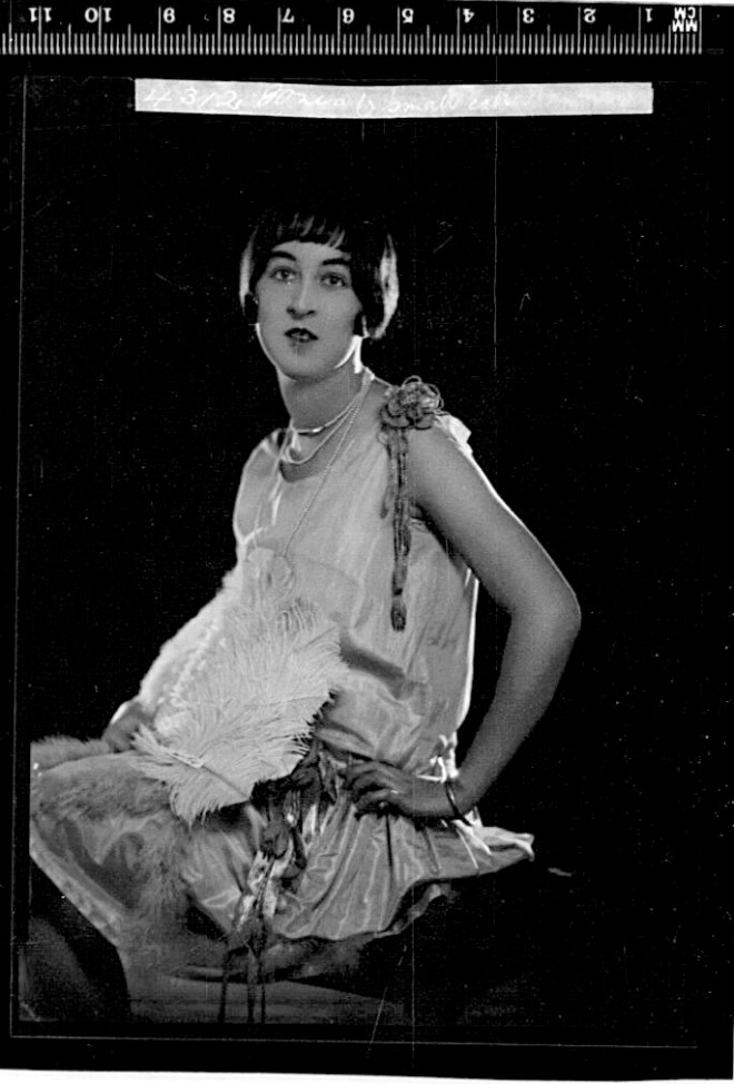 1920s evening dress