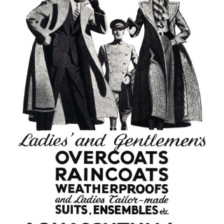 Vintage Aquascutum for the teenage Princesses