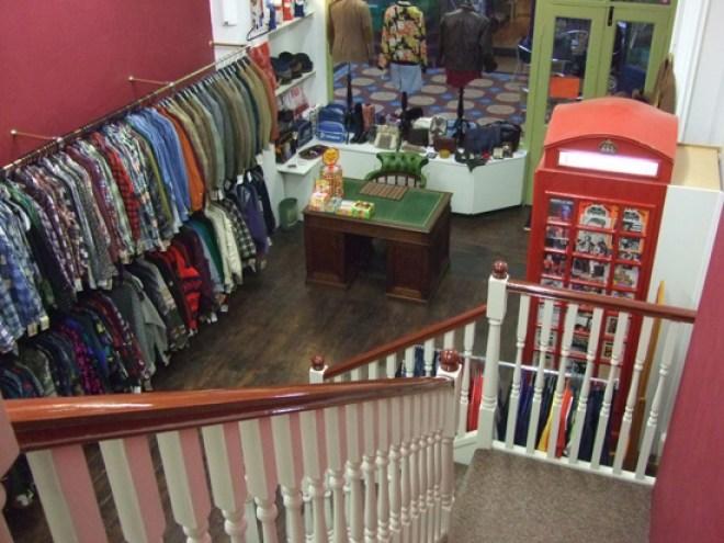 Vintage shop
