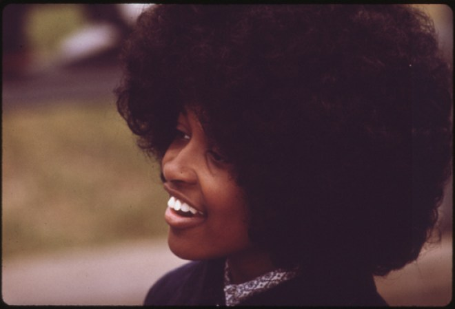 1970s afro
