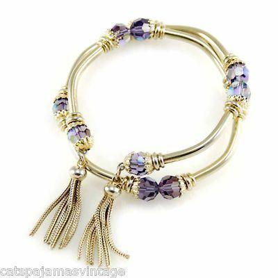 Vintage 1960s gold bracelet