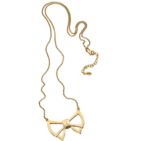 Fiorelli bow necklace