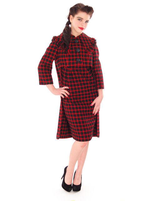 Vintage 1960s Galanos Sheath Dress
