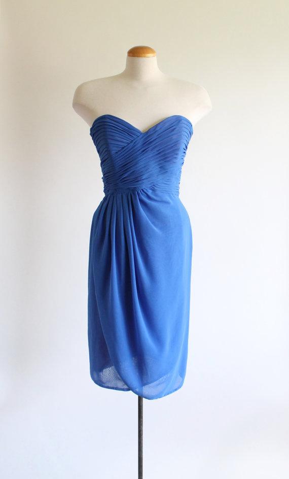 vintage cocktail dress - 80s Frank Usher formal dress