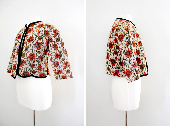 Vintage 50s Tapestry Jacket