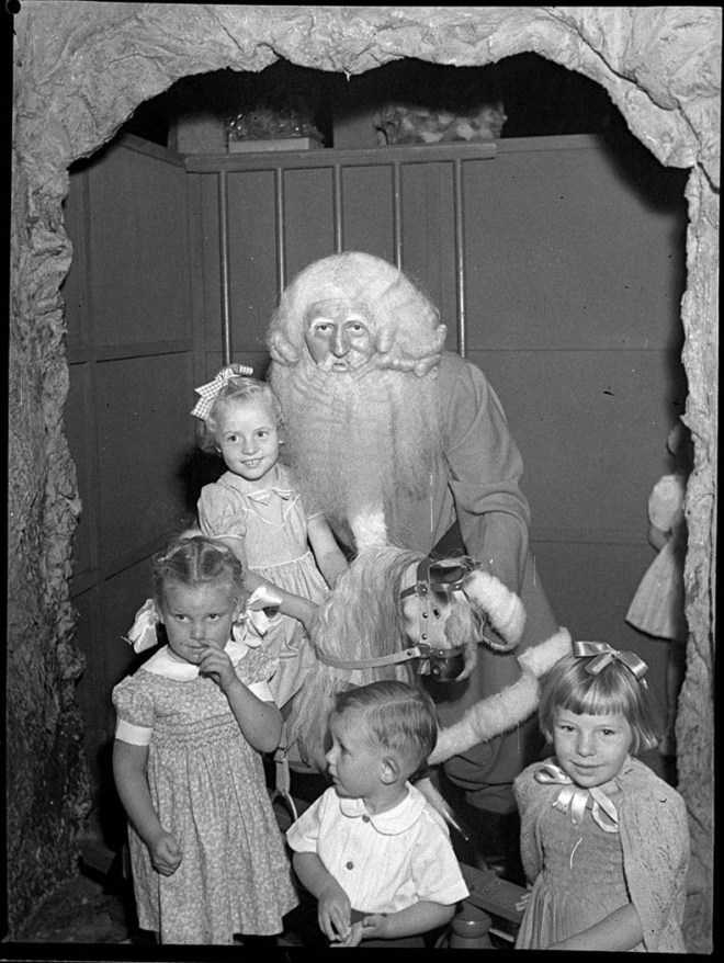 1940s Santa