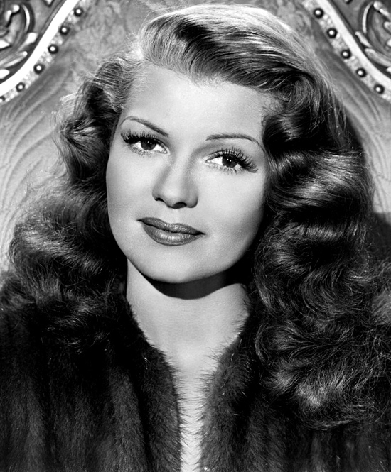 Rita Hayworth Hairline Before After Below: hayworth before and