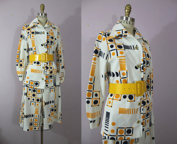 70s Op Art Suit