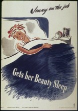 WW2 1940s Wartime poster: Jenny on the Job