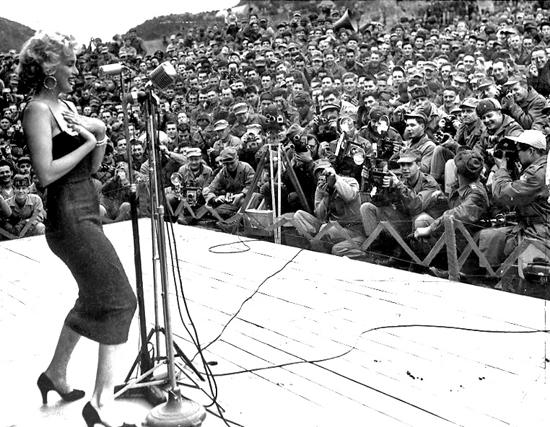 Marilyn Monroe's USO Tour in South Korea