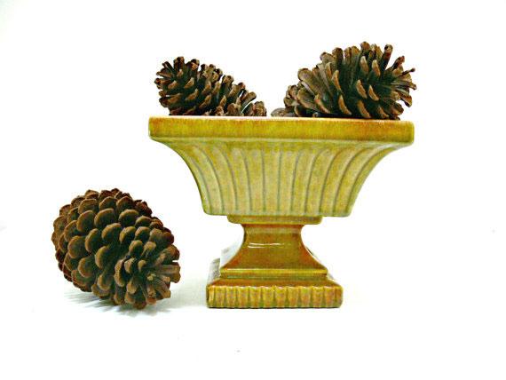 Vintage Haeger Pottery Vase Urn - Mid Century