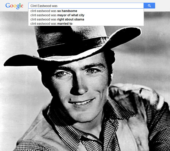 Google results for Clint Eastwood