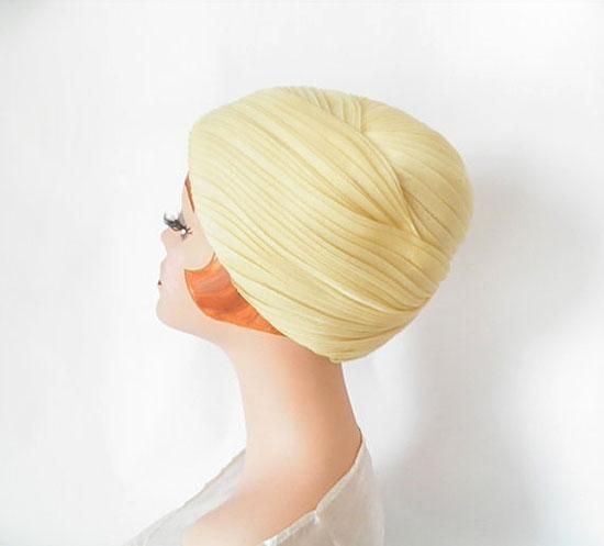 1960s beehive hat