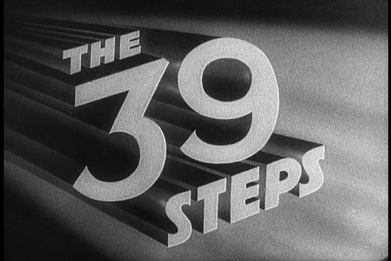 Hitchcock's The 39 Steps