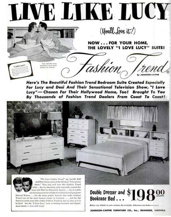 I Love Lucy Merchandise 1950s