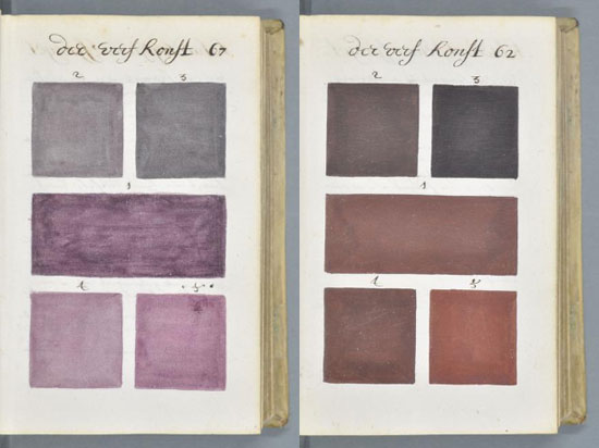 Antique Pantone Colour Book