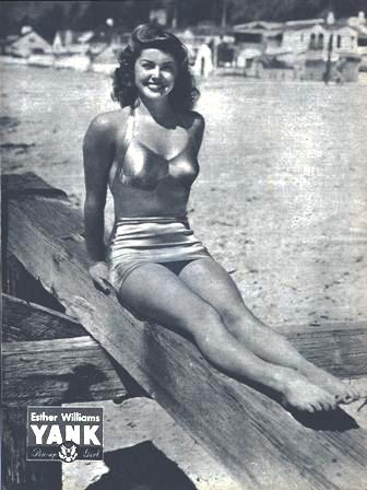 WW2 Pin-Up in Yank Magazine: Esther Williams