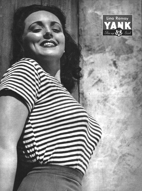 WW2 Pin-Up in Yank Magazine: Lina Romay